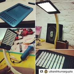 #Repost @utkarshkumargupta  @inkv ・・・ Broken Amazon Kindle to an LED lamp!! #make #makeit #maker #makersasylum #doityourself #upcycled #wood #wooden #woodwork #handmade #homemade #repurposed #diy #diys #diyideas #instagood #follow #instalike #like4like #a