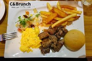 蘆洲食記|C&Brunch;假日都在排隊的巷弄早午餐