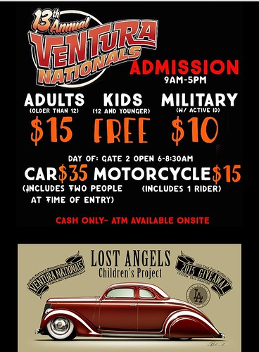 """VENTURA CA USA - """"13th Annual Ventura National Labor Day Weekend"""" September 5 Saturday - 9am to 5pm - www.SoCalCarCulture.com • <a style=""""font-size:0.8em;"""" href=""""http://www.flickr.com/photos/134158884@N03/20508754033/"""" target=""""_blank"""">View on Flickr</a>"""