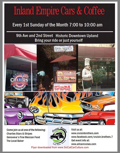 "UPLAND CA USA - ""Inland Empire Cars and Cars"" September 6  Sunday  7 AM 10AM - every first Sunday of the month - credit www.SoCalCarCulture.com • <a style=""font-size:0.8em;"" href=""http://www.flickr.com/photos/134158884@N03/21146968421/"" target=""_blank"">View on Flickr</a>"