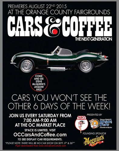 """ORANGE COUNTY CA USA - """"The Orange County Fairgrounds Cars and Coffee - Next Generation"""" December 26 Saturday  7am - 9am - Credit: www.SoCalCarCulture.com • <a style=""""font-size:0.8em;"""" href=""""http://www.flickr.com/photos/134158884@N03/23901752946/"""" target=""""_blank"""">View on Flickr</a>"""