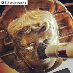 #Repost @sugarcreative ・・・ Getting ready for the close up. The British Academy Cymru Award getting a powder down to aid the 3d scanning process #makingof #cymruawards #cymru #wales #3dscan #augmentedreality