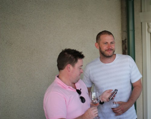 Adam Forster and Lincoln Riley