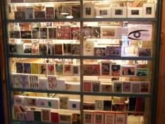 Granville Island Postcard shop