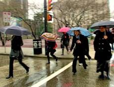 Rainy Vancouverites