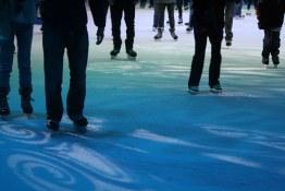 Skating at Robson Ice Rink