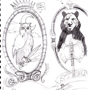 Animal Squadron Logos