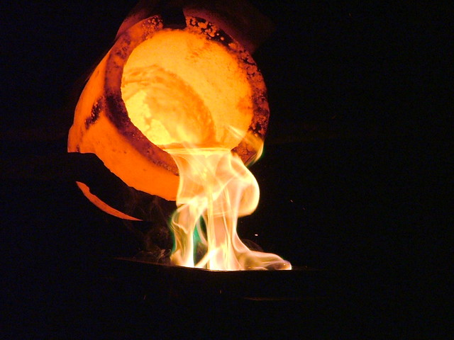 Pouring Liquid Gold