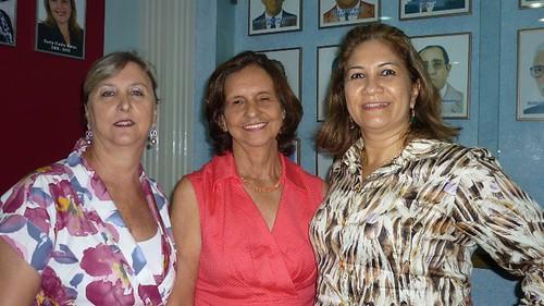 Irene Escher, Roselis Fernandes e Ruth Oliveira