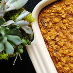 Ginger Pumpkin Baked Oatmeal