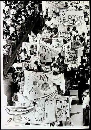 New York Mets Banner Day 1970
