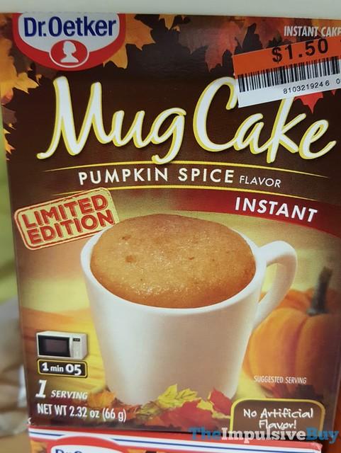 Limited Edition Dr. Oetker Pumpkin Spice Mug Cake