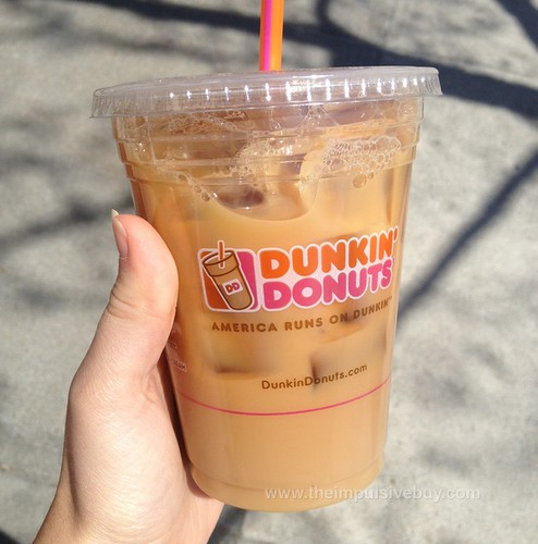 Dunkin' Donuts Cookie Dough Iced Coffee