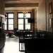 Interior, looking toward rear patio | The Ascot, 420 West Pender