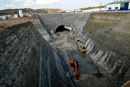 LAV Levante. Túnel El Regajal.