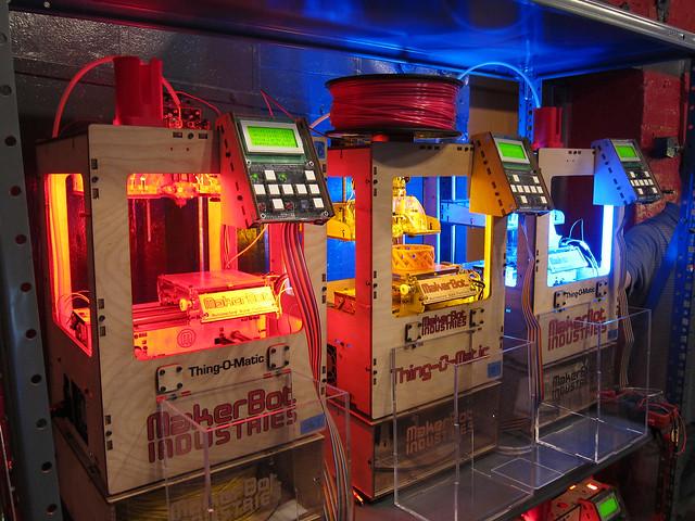 MakerBot Bot Farm