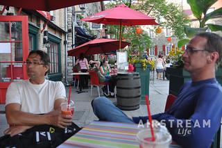 Quebec City cafe
