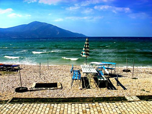 Orikum beach