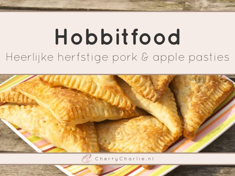 Hobbitfood: Heerlijke herfstige pork & apple pasties • CherryCharlie.nl