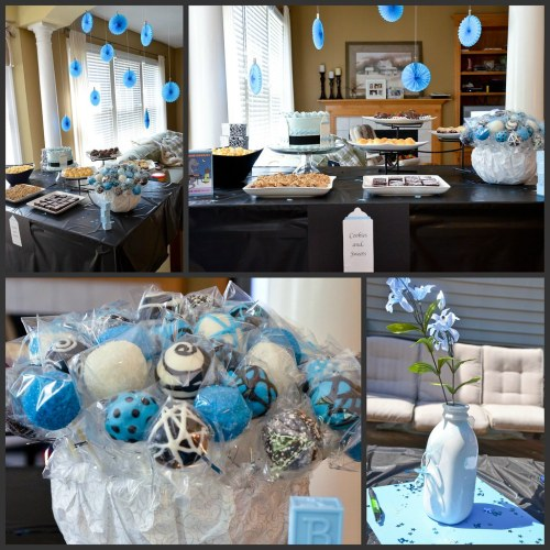 Medium Of Boy Baby Shower Ideas