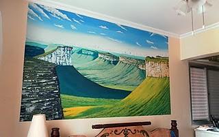 Vale do Cercado - Pintura Mural