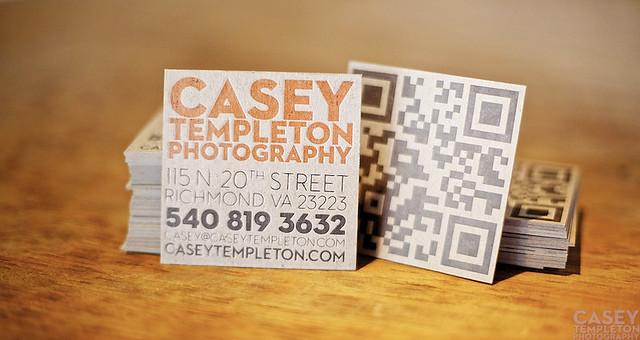 Casey Templeton's card