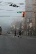 Foggy Hastings Street