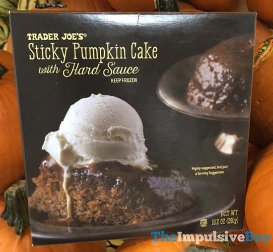 Trader Joe S Sticky Pumpkin Cake