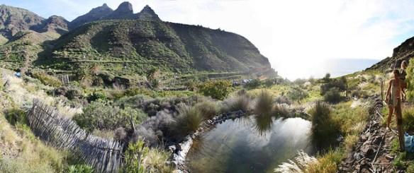 Canary Islands beaches, Guigui beach valley