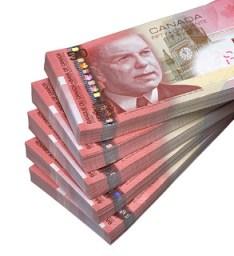 $50 notes/Coupures de 50 $
