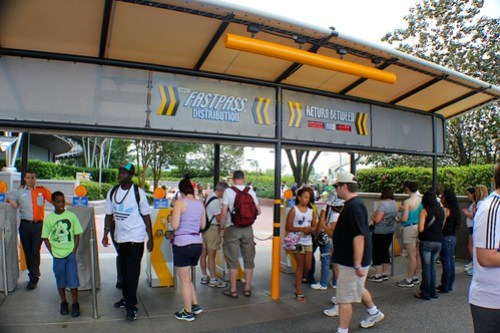 Fast Pass Distribution - Test Track at Epcot