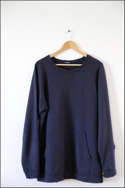 Tuukka13 - My Recent Purchases - Balmain Sweatshirt, Undercoversim Hooded Vest, 4jigeN Jersey T-shirt, Dior Homme Japan Oversized T-shirt and Kris Van Assche Oversized V Neck - 1