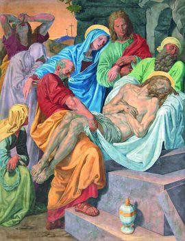 Jesús en el Sepulcro