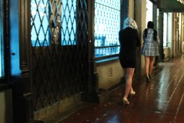 The lost ladies of last call, Saturday night in Gastown, desperate for a Skytrain in the rain
