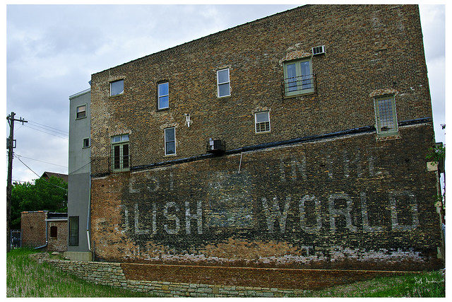 Best In The Polish World - ghost sign