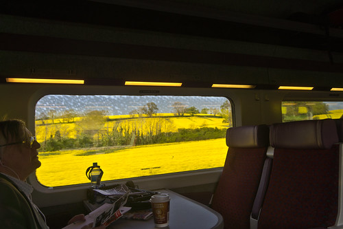 Enterprise Express Service To Belfast (The Fields Are Yellow)
