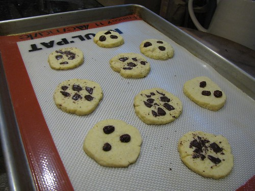 Baked sliced cookies 1