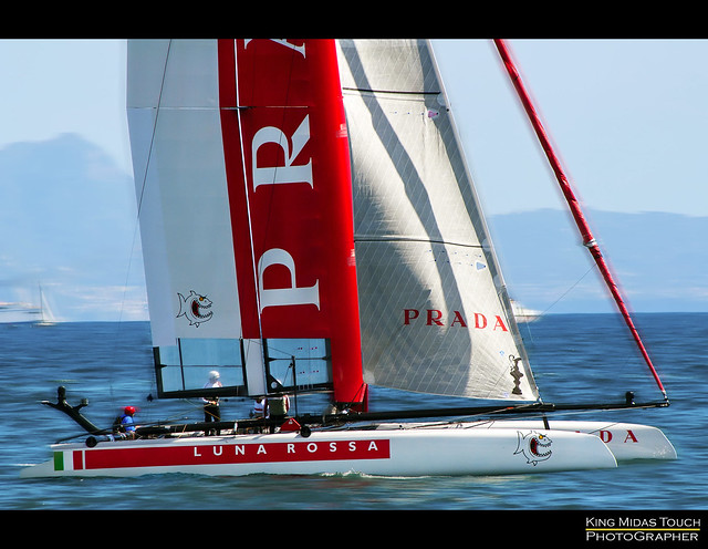 America's Cup World Series Napoli [The winner] por King Midas Touch