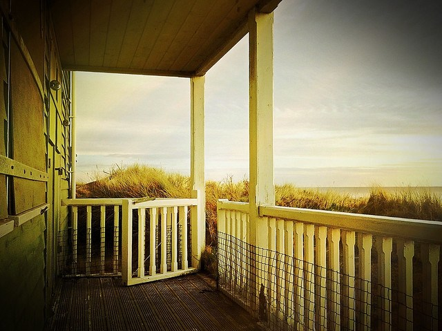 Beach House Porch, Embleton, Northumberland