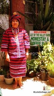 Mrs. Laruan and her Benguet Homestay