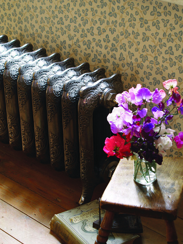Stylish low radiators for those awkward spaces add a touch of class to a room