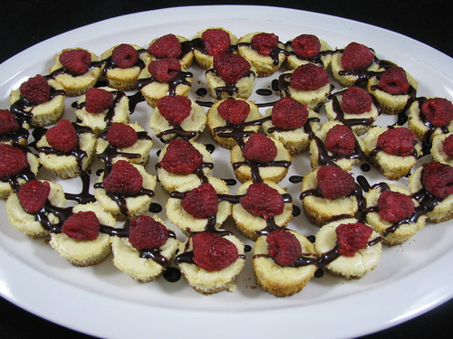 New York Mini Cheesecakes