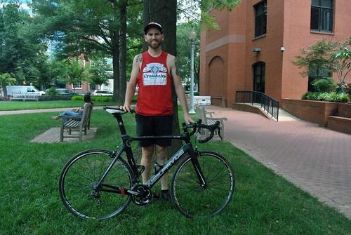 Car-for-Bike Trader Kevin Hayes