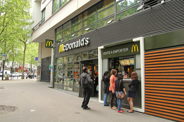 McDonald's Paris La Fourche (France)