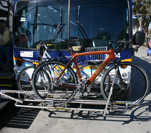 A $5000 custom bike on the bus