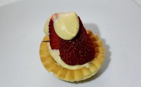 Strawberries in Sabayon
