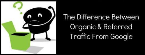Organic traffic vs Referral Trafffic