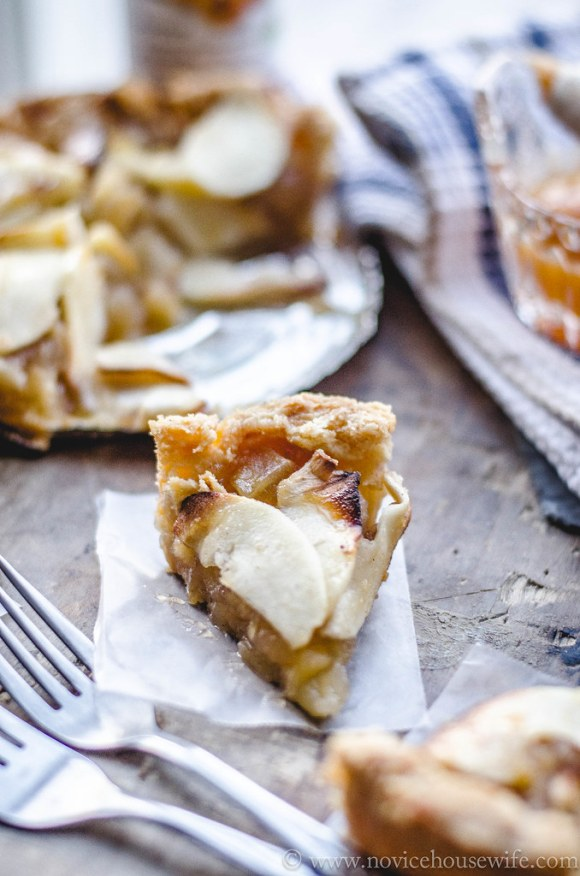 Eggless Apple Tart The Novice Housewife