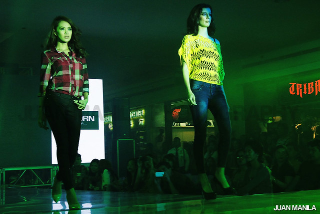 SM City Santa Rosa jeans event held last July 27.