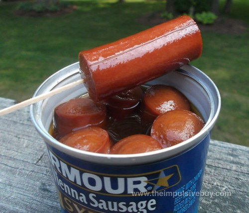 Armour Syrup Flavored Vienna Sausage Toothpick